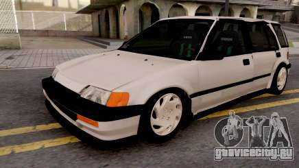 Honda Civic Shuttle 1991 для GTA San Andreas