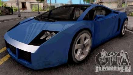 Veloce (Vacca) для GTA San Andreas