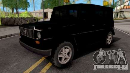 Benefactor Dubsta Black для GTA San Andreas
