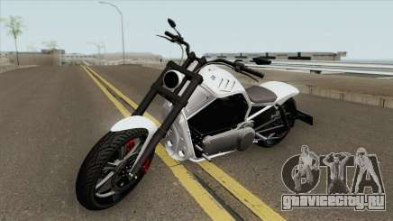 Western Motorcycle Nightblade GTA V (Custom) для GTA San Andreas
