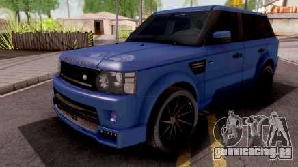 Land Rover Range Rover Sport Blue для GTA San Andreas