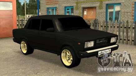 ВАЗ 2107 БЛЭК ДЖЕК для GTA San Andreas