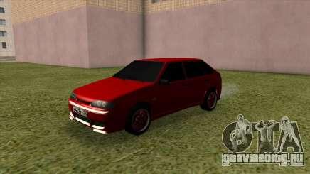 ВАЗ 2114 Красный Тюнинг для GTA San Andreas