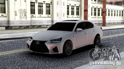 Lexus GS-F для GTA San Andreas