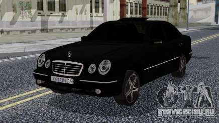 Mercedes-Benz W210 E55 Black для GTA San Andreas