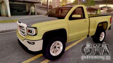 GMC Sierra 2018 для GTA San Andreas