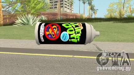 AlienOut Spraycan (From Spongebob) для GTA San Andreas