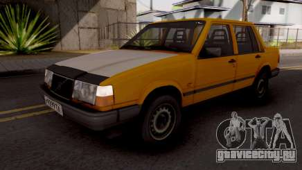 Volvo 460 Yellow Stock для GTA San Andreas