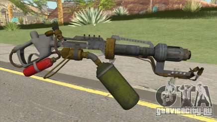 Flame Thrower HQ для GTA San Andreas