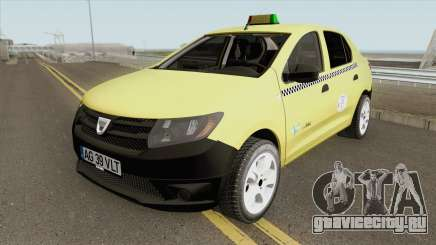 Dacia Logan 2 - Taxi Valentin 2016 для GTA San Andreas