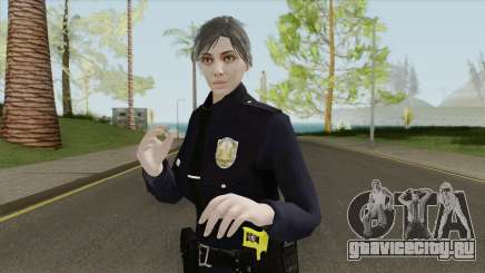 GTA Online Random Skin 17 Female LSPD Officer для GTA San Andreas