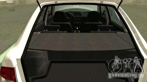 ВАЗ 2172 Сток для GTA San Andreas