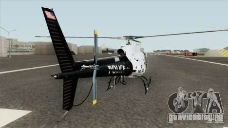Police Maverick GTA V (SFPD Air Support Unit) для GTA San Andreas