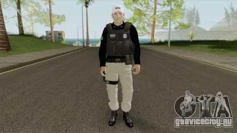Brazilian Police Skin V1 для GTA San Andreas