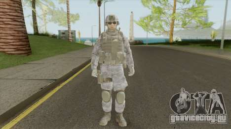 The Damned 33rd Soldier V2 (Spec Ops: The Line) для GTA San Andreas