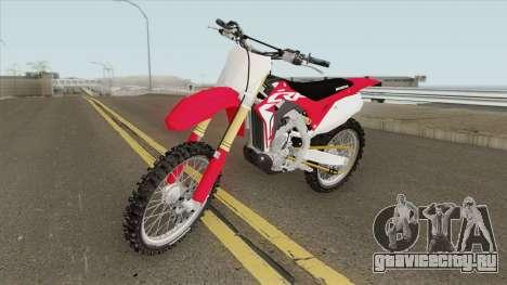 Honda CRF450R 2019 для GTA San Andreas