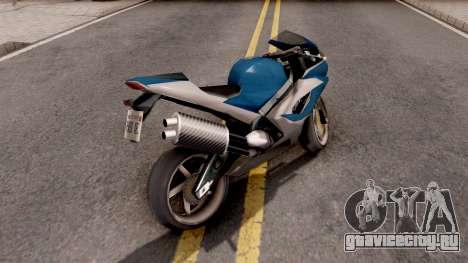 Suzuki GSX R1000 для GTA San Andreas