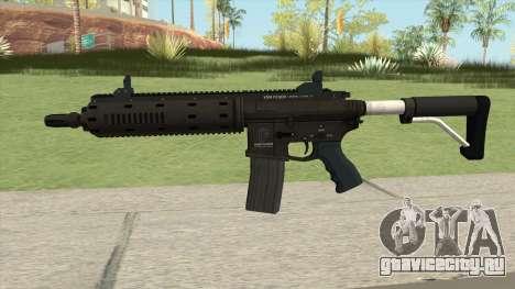 Carbine Rifle GTA V Flashlight (Default Clip) для GTA San Andreas