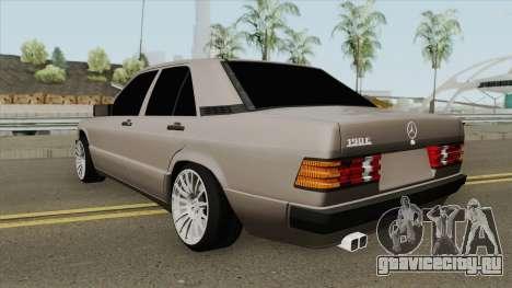 Mercedes-Benz 190E W201 для GTA San Andreas