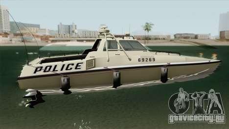 Police Predator GTA V для GTA San Andreas