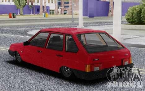 ВАЗ 2109 Вхлам для GTA San Andreas