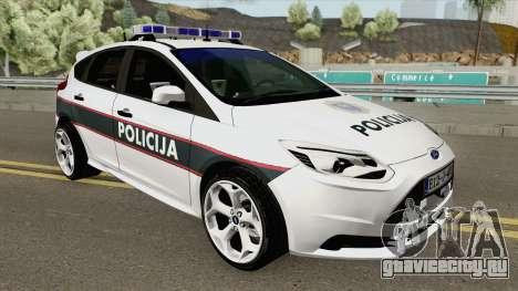 Ford Focus ST 2013 BiH Policija для GTA San Andreas
