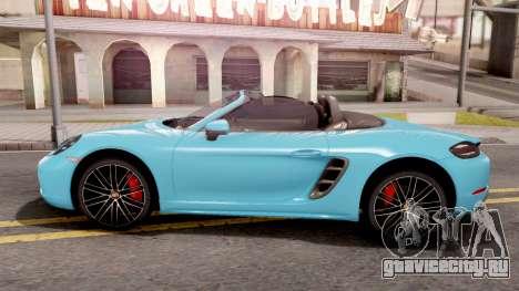 Porsche 718 Boxster S 2016 для GTA San Andreas