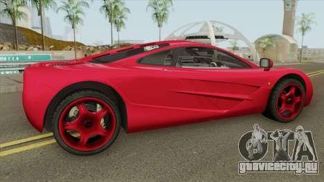 Mclaren F1 для GTA San Andreas