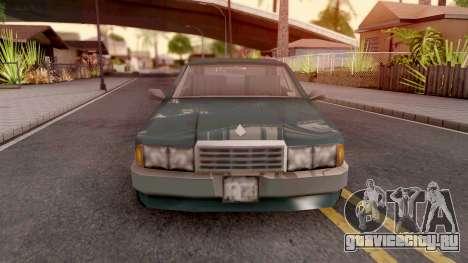 Sentinel from GTA 3 для GTA San Andreas