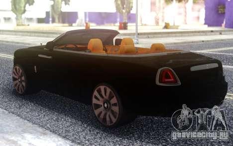 Rolls-Royce Dawn для GTA San Andreas