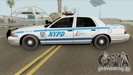 Ford Crown Victoria - Police NYPD v2 для GTA San Andreas