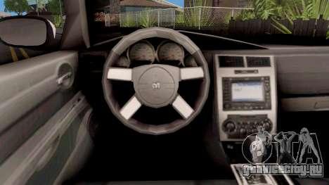Dodge Charger SRT 8 Police для GTA San Andreas
