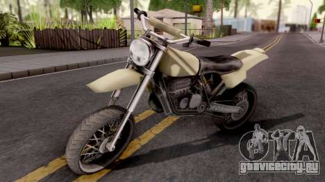 Sanchez GTA VC Xbox для GTA San Andreas