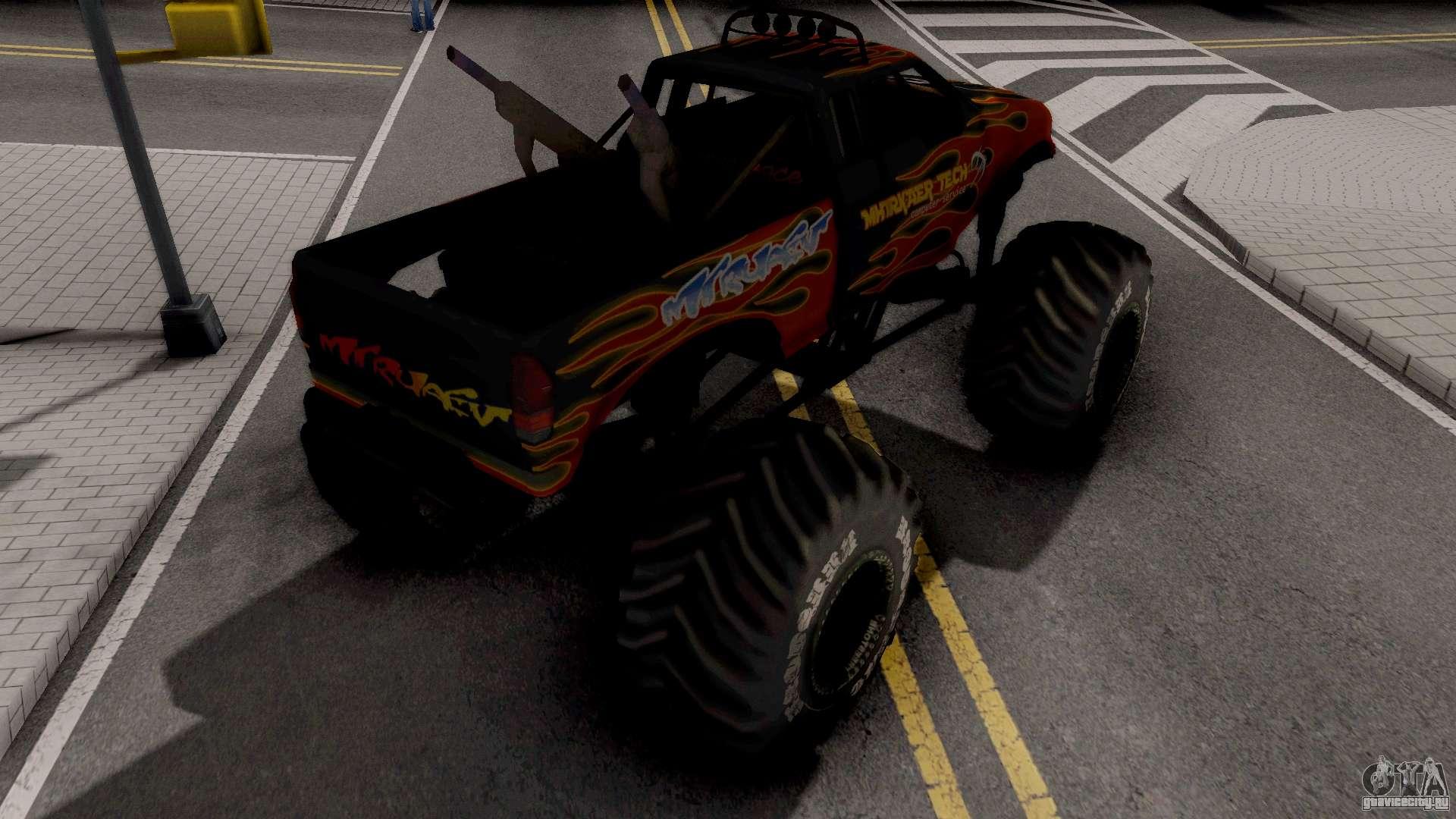 Monster Truck для Gta San Andreas