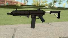 Carbine Rifle GTA V Extended (Flashlight, Grip) для GTA San Andreas
