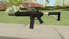 Carbine Rifle GTA V V3 (Silenced, Tactical) для GTA San Andreas