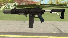 Carbine Rifle V3 (Flashlight, Grip, Silenced) для GTA San Andreas