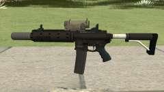 Carbine Rifle V3 Silenced, Tactical, Flashlight для GTA San Andreas