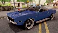 Dodge Challenger Cabrio 1970 для GTA San Andreas