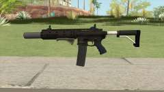 Carbine Rifle GTA V Extended (Grip, Silenced) для GTA San Andreas
