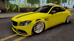 Mercedes-Benz C63S Coupe для GTA San Andreas