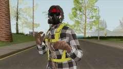 Black Guy Skin V3 для GTA San Andreas