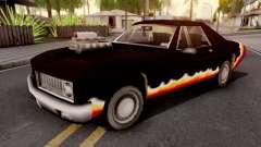 Diablo Stallion GTA III для GTA San Andreas
