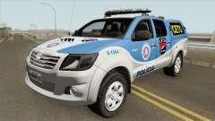 Toyota Hilux 2015 CETO для GTA San Andreas