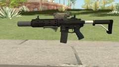 Carbine Rifle V2 (Grip, Silenced, Tactical) для GTA San Andreas