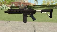Carbine Rifle GTA V V2 (Flashlight, Tactical) для GTA San Andreas