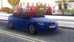 BMW M5 E60 Sedan Blue для GTA San Andreas