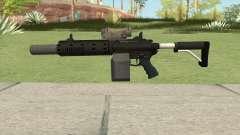 Carbine Rifle V1 Silenced, Tactical, Flashlight для GTA San Andreas