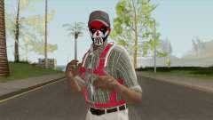 Black Guy Skin V1 для GTA San Andreas