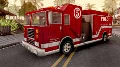 Firetruck GTA III Xbox для GTA San Andreas